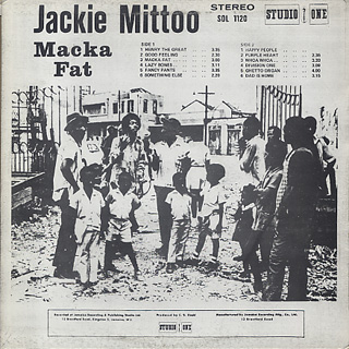 Jackie Mittoo / Macka Fat back