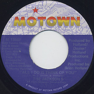Jackson 5 / All I Do Is Think Of You (7