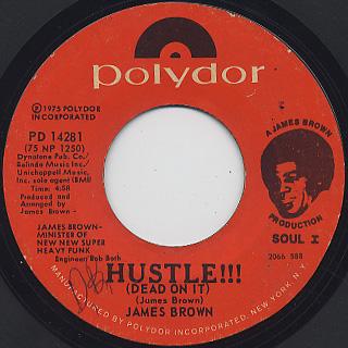 James Brown / Hustle!!! (Dead On It)