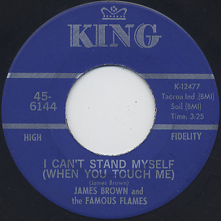 James Brown & The Famous Flames / There Was A Time back