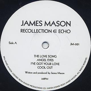 James Mason / Recollection Echo label
