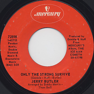Jerry Butler / Just Because I Really Love You back