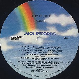 Klique / Try It Out label