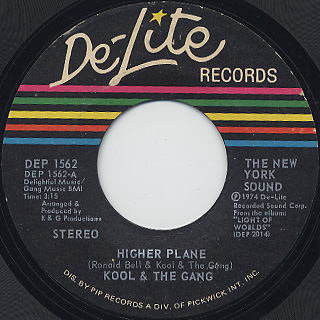 Kool And The Gang / Higher Plane c/w Wild Is Love front