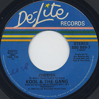 Kool & The Gang / Cherish