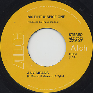 MC Eiht & Spice One / Any Means c/w Supply back