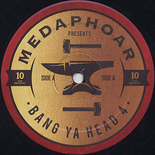 MED / Bang Ya Head 4: 10 Year Anniversary label