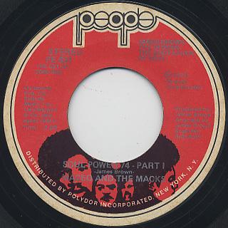 Maceo And The Macks / Soul Power 74(Part I & II)