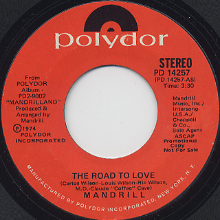 Mandrill / The Road To Love (45)