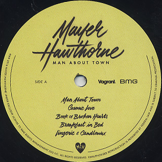 Mayer Hawthorne / Man About Town label