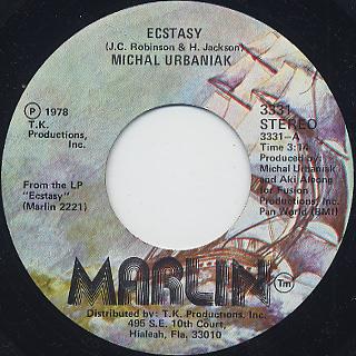 Michal Urbaniak / Ecstasy (7