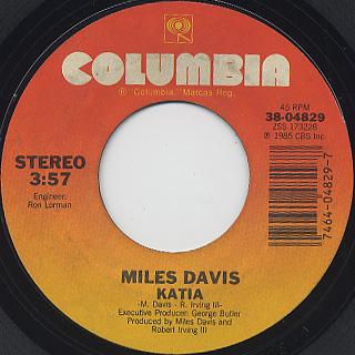 Miles Davis / Time After Time back