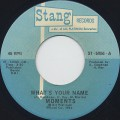 Moments / What's Your Name c/w Mama I Miss You-1