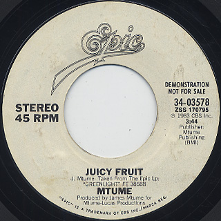 Mtume / Juicy Fruit (7