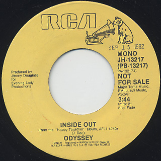Odyssey / Inside Out (45) back