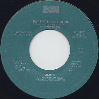 Pat Metheny Group / James