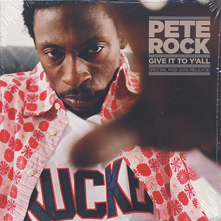 Pete Rock / Give It To Y'all front