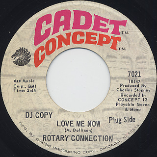 Rotary Connection / Love Me Now