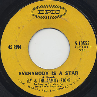 Sly And The Family Stone / Everybody Is A Star
