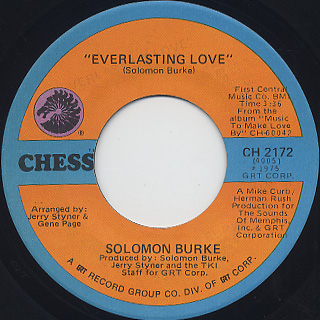 Solomon Burk / Everlasting Love