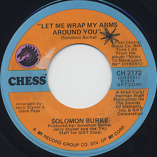 Solomon Burk / Everlasting Love back