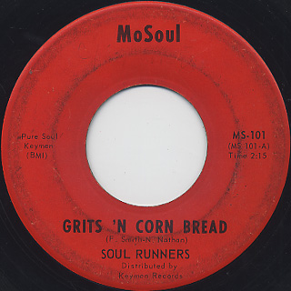 Soul Runners / Grits 'N Cornbread front