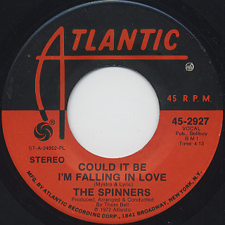 Spinners - Could It Be I'm Falling In Love / Ghetto Child