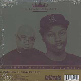 Visionaries / All Along c/w Crown Royale / Stratasphere back
