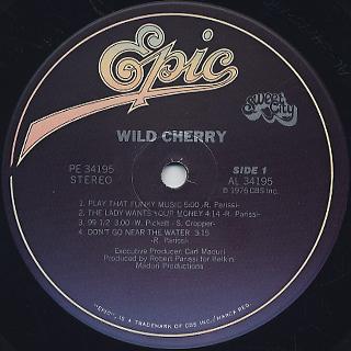 Wild Cherry / Wild Cherry label
