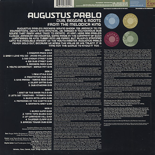 Augustus Pablo Dub Reggae Amp Roots From The Melodica