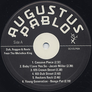 Augustus Pablo / Dub, Reggae & Roots From The Melodica King label