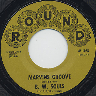 B. W. Souls / Marvins Groove (45) front