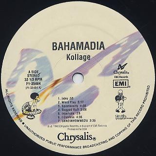 Bahamadia / Kollage label