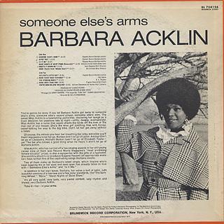 Barbara Acklin / Someone Else's Arms back