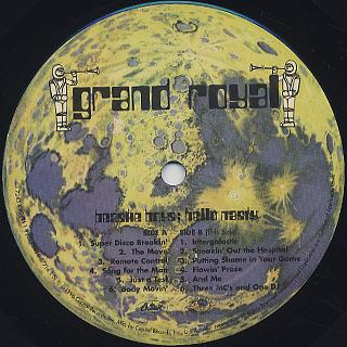 Beastie Boys / Hello Nasty label