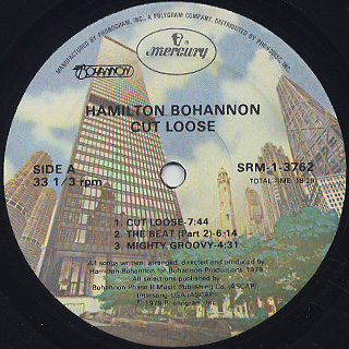 Bohannon / Cut Loose label