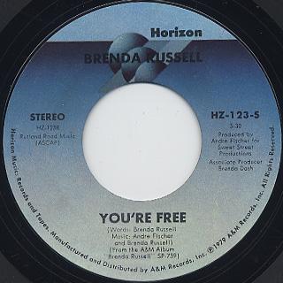 Brenda Russell / So Good, So Right back