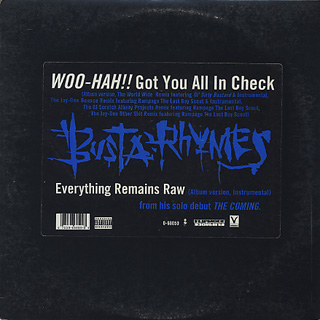 Busta Rhymes / Woo-Hah!! Got You All In Check-1