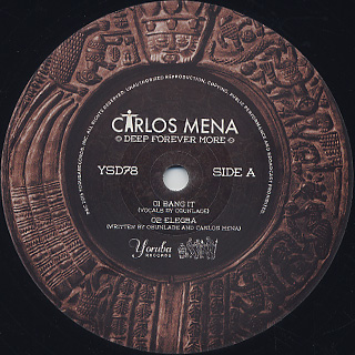 Carlos Mena / Deep Forever More back