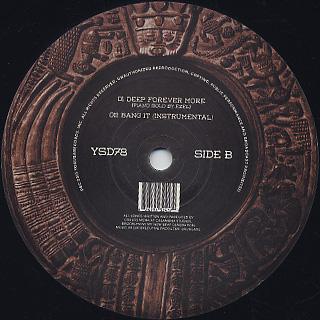 Carlos Mena / Deep Forever More label