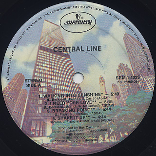 Central Line / S.T. label
