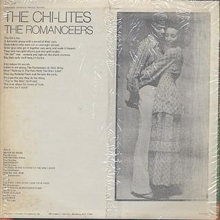 Chi-Lites / Romanceers / S.T. back