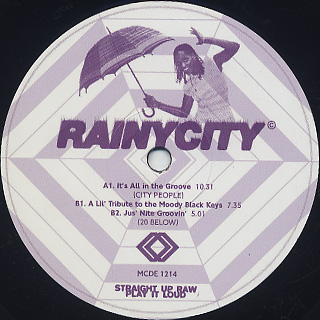 City People / 20 Below / It's All In The Groove