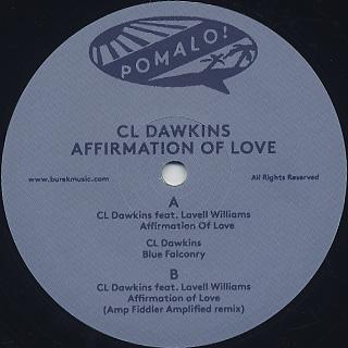 Cl Dawkins / Affirmation Of Love label