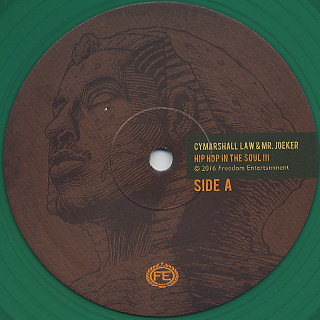 Cymarshall Law & Mr. Joeker / Hip Hop In The Soul 3 label