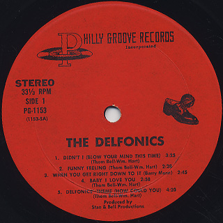 Delfonics / S.T. label