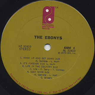 Ebonys / S.T. label