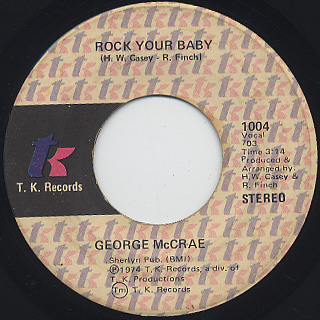George McCrae / Rock Your Baby