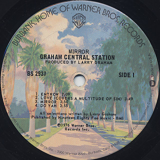 Graham Central Station / Mirror label