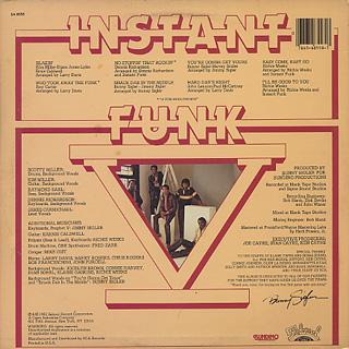 Instant Funk / Instant Funk V back